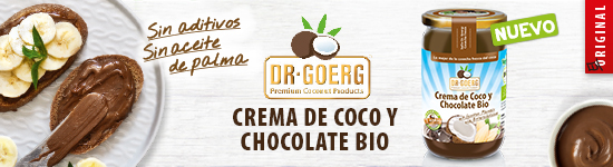 crema untable de coco y chocolate